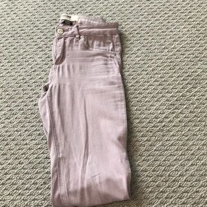 Purple high waisted jegging